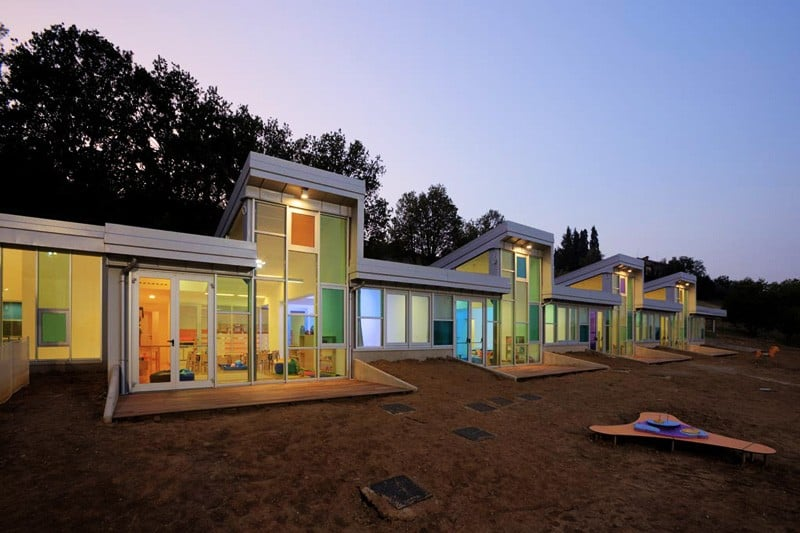 Top 10 Amazing Modern Kindergartens Children Love Go on Four Story Contemporary House