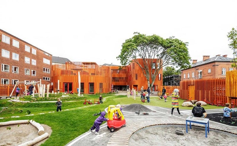 Forfatterhuset Kindergarten COBE designrulz (13)