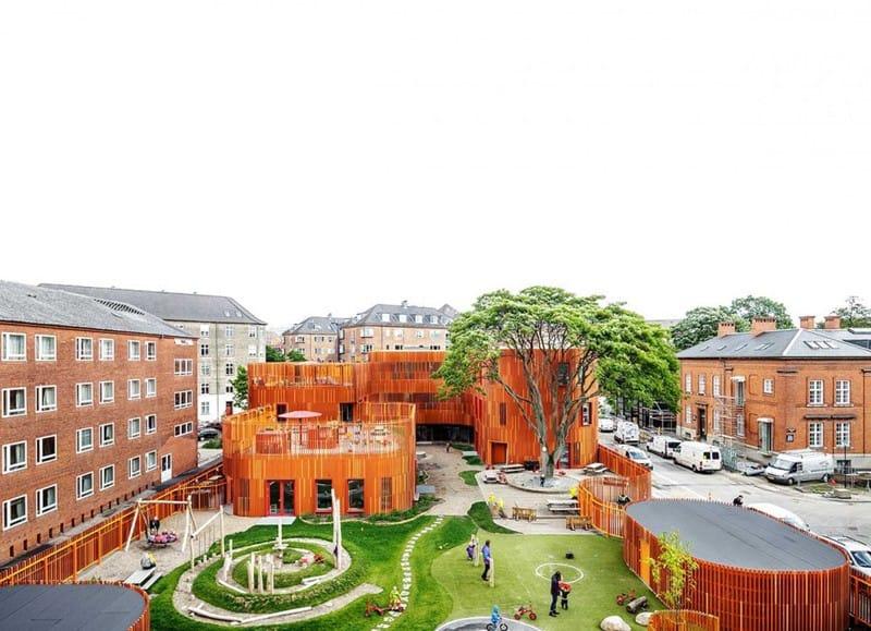 Forfatterhuset Kindergarten COBE designrulz (14)