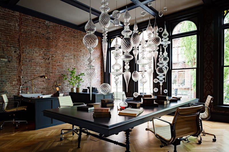 the gothic office a luxurious dark and glamorous private office by