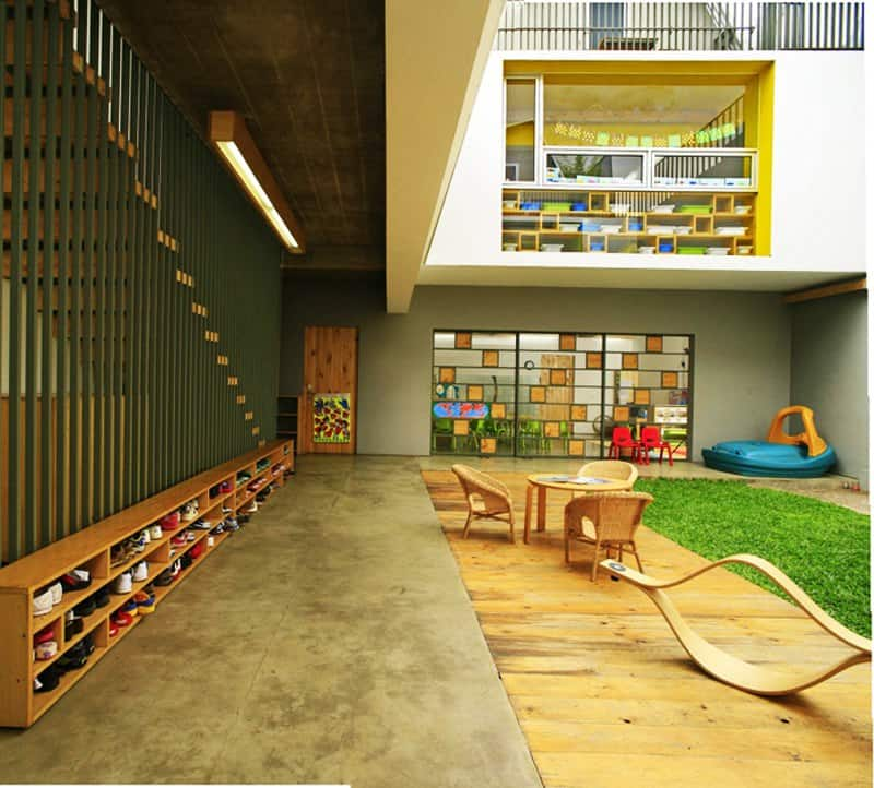 Modern Kindergarten Classroom Design : Top amazing modern kindergartens where your children