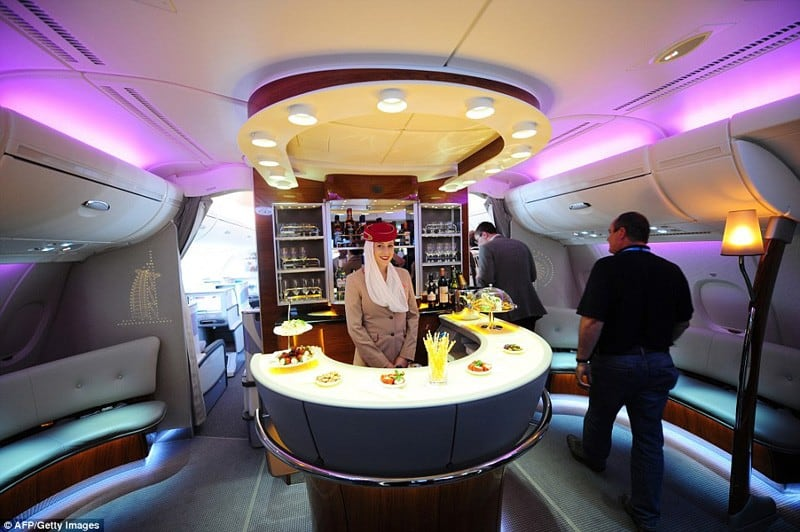 The Emirates A380 Airbus Most Luxurious On Board