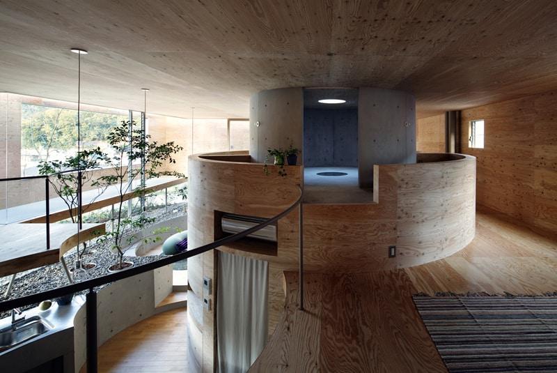 Pit House UID Architects Okayama (1)