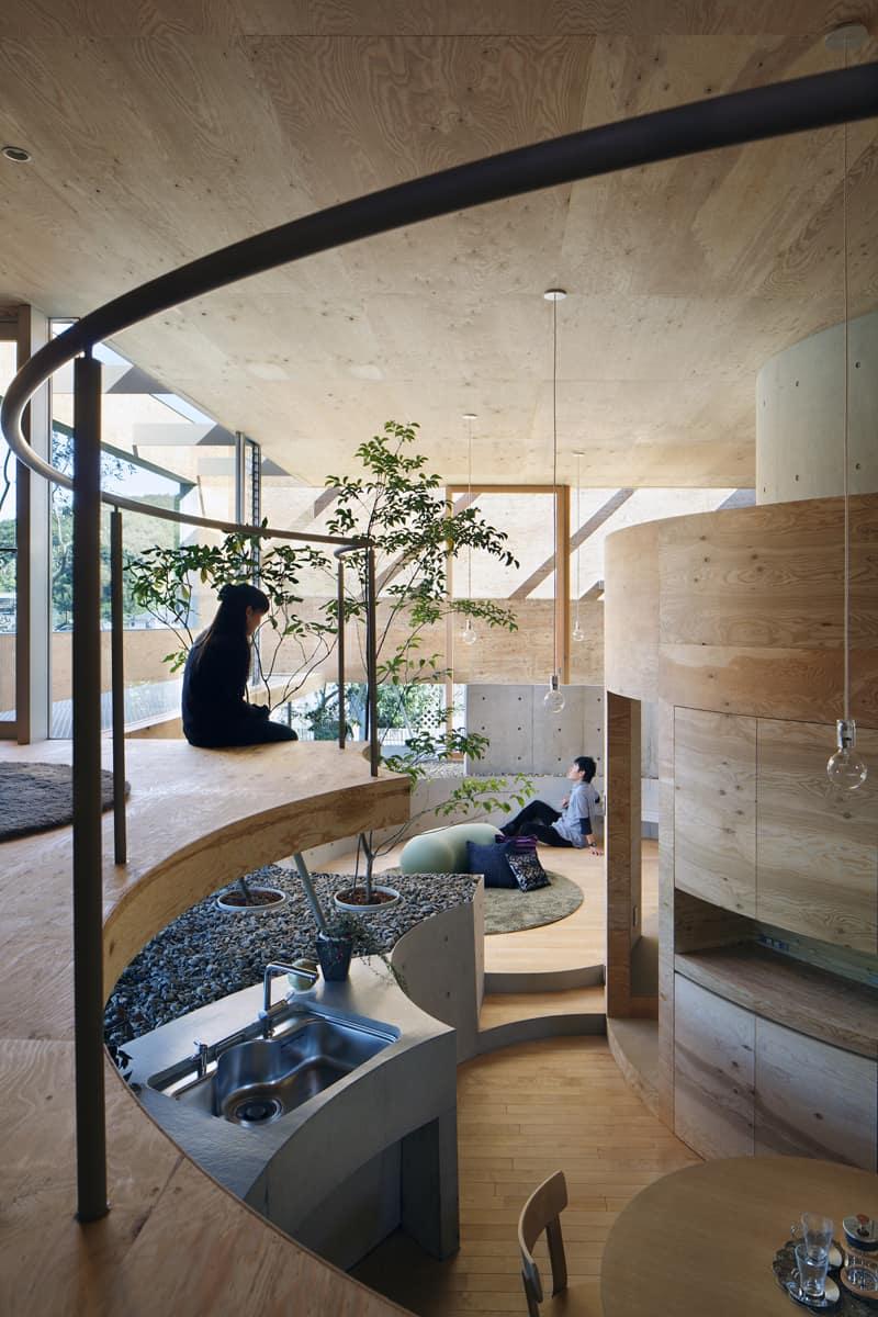 Pit House UID Architects Okayama (2)