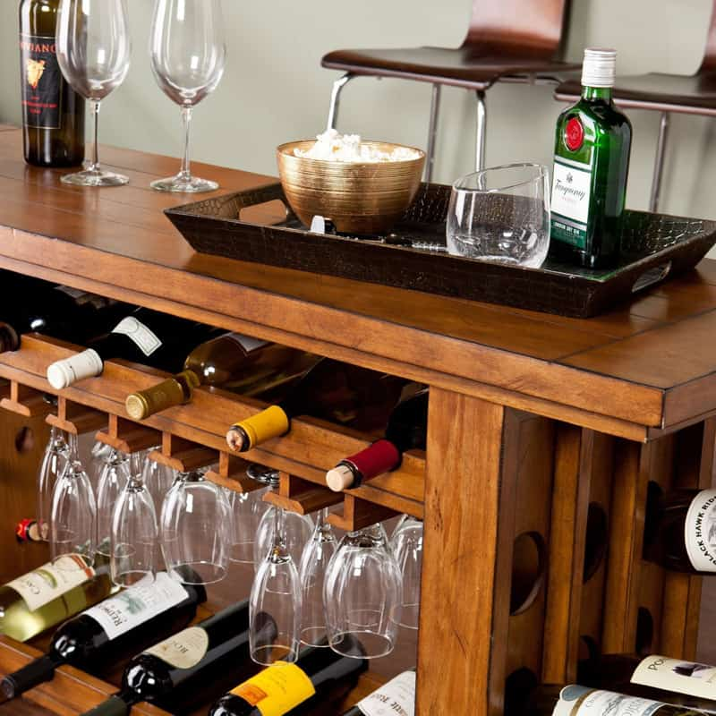 Riddling Wine Console Table (2)