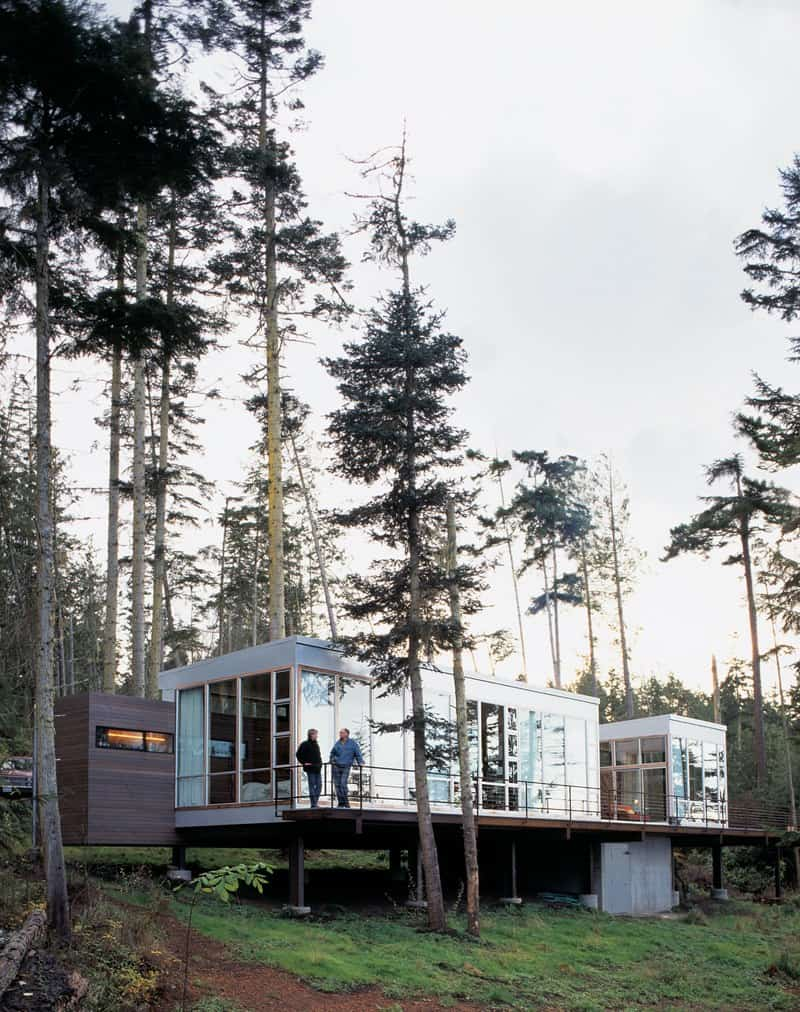 15 Awesome Forest Dwelling Designs that will Make You Love Green ...