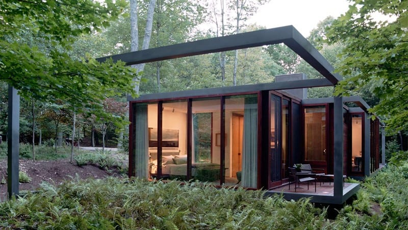 Awesome Modern Refuge Surrounded By Lush Forests In Ohio: The Zinc House