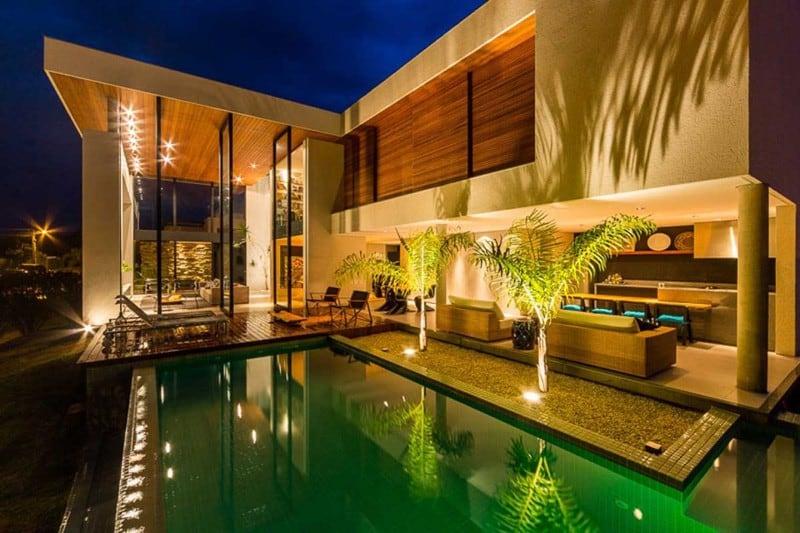 Modern House By Spagnuolo Arquitetura Londrina Brazil