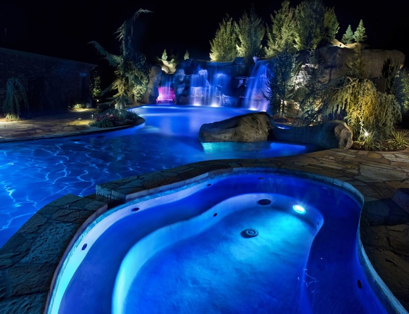 Epic Swimming Pool By Caviness Landscape Usa