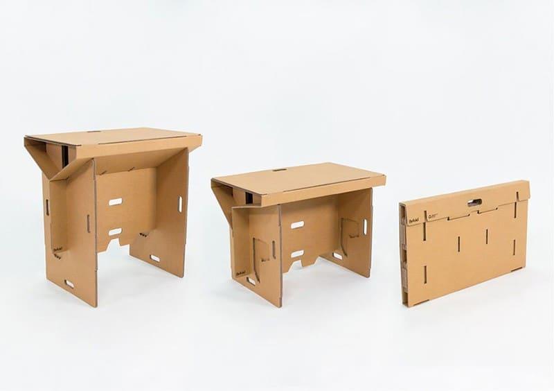 refold-portable-cardboard-standing-desk-designrulz (8)