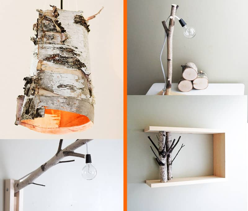 21 Most Unique Wood Home Decor Ideas: 10 Unique DIY Projects Featuring Birch Wood