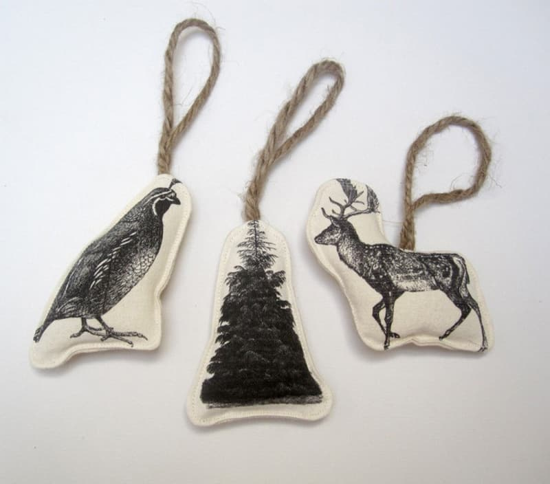 Easy Pieces Handmade Holiday Ornaments (13)