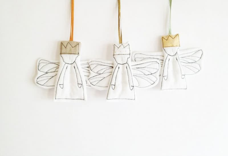 Easy Pieces Handmade Holiday Ornaments (4)