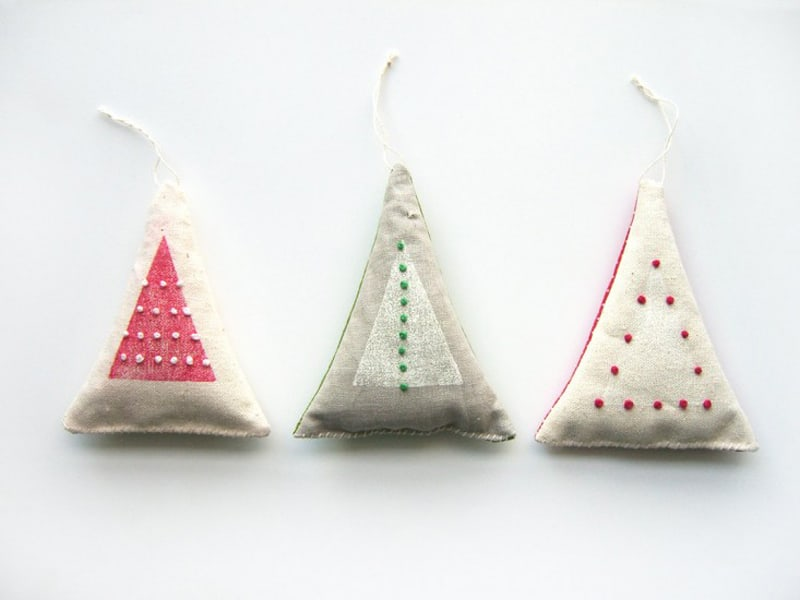 Easy Pieces Handmade Holiday Ornaments (5)