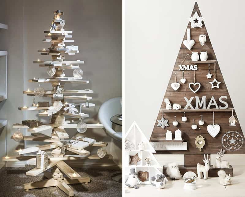 25 ideas of how to make a wood pallet christmas tree. Black Bedroom Furniture Sets. Home Design Ideas