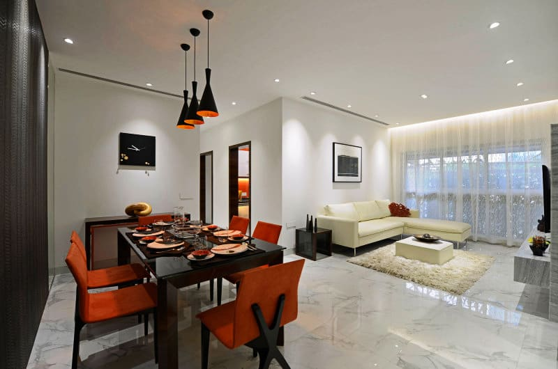 Modern Luxury Interior Design In India Ridgewood By Ga Design