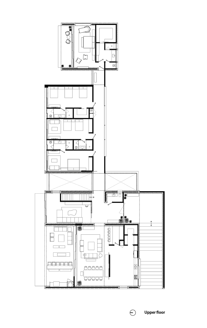 Two houses in one different living needs but same for Different floor plans for homes