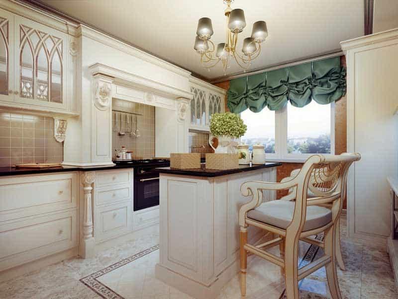 Traditional-cream-kitchen-appliances