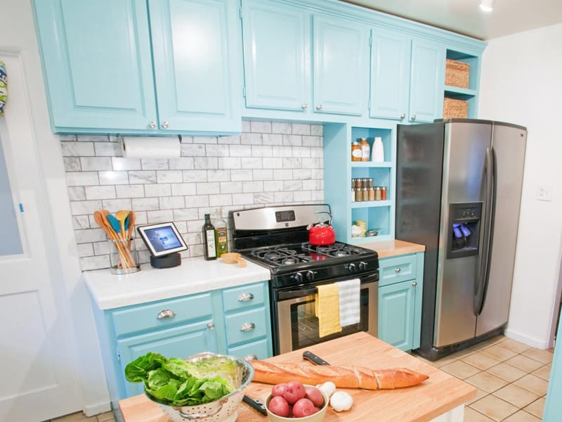 turquoise Kitchen (3)