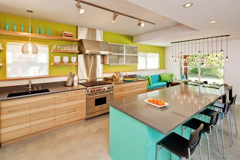 turquoise Kitchen (6)