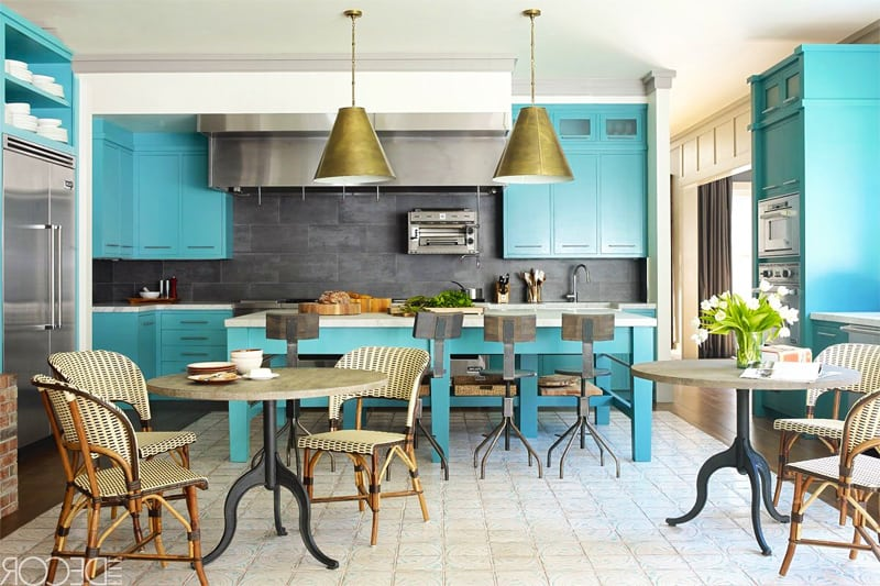 Would You Use Heavy Or Light Mineral For A Kitchen : Ideas Of How To Use Turquoise In A Kitchen