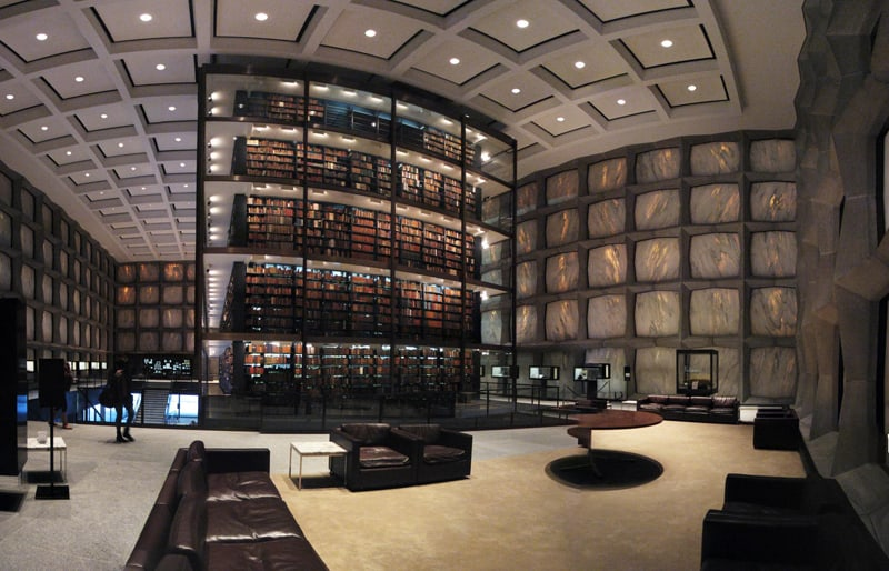 Beinecke Rare Book & Manuscript Library, Yale University, Connecticut, Usa 2