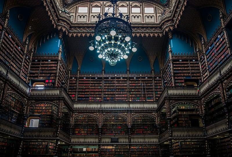 Biblioteca Real Gabinete Portugues De Leitura, Rio De Janeiro, Brazil 2
