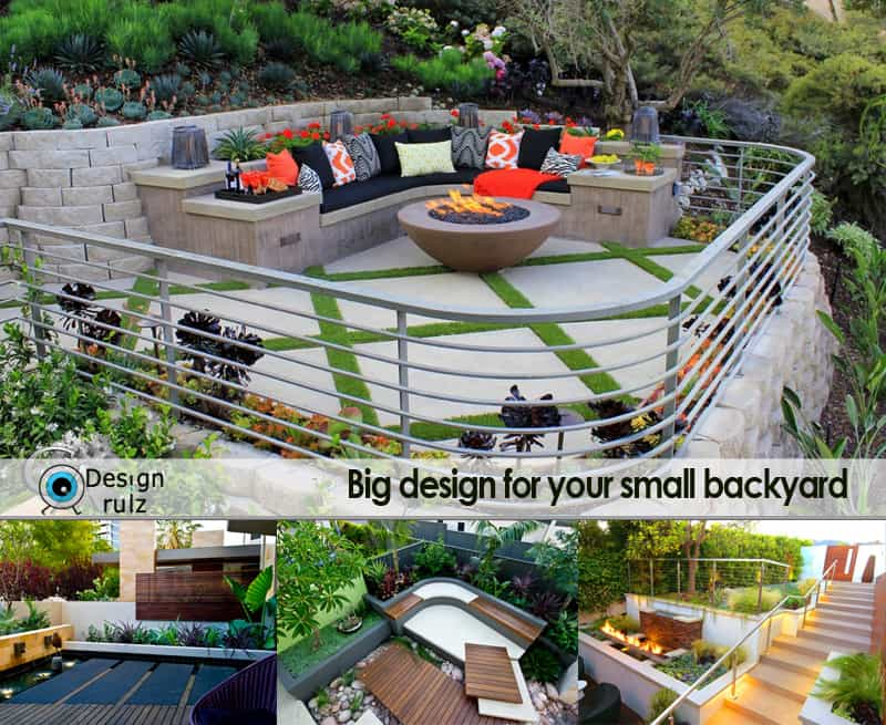 cover - Narrow Backyard Design Ideas