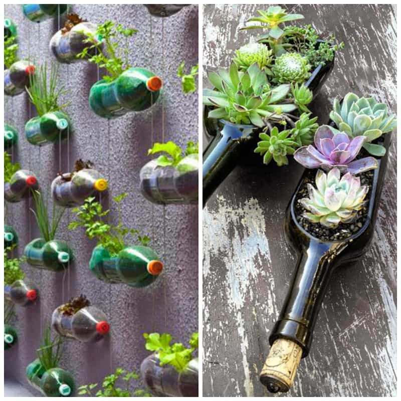100 Most Creative Gardening Design Ideas 2018: Creative Decorations With Recycled Items To Turn Your