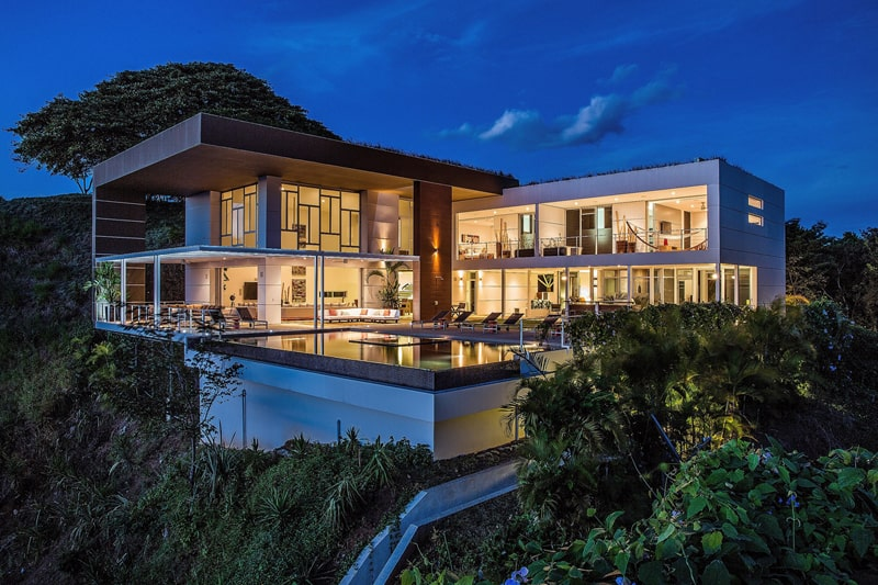 Kalia s eos luxury home rental in costa rica for Luxury rentals costa rica