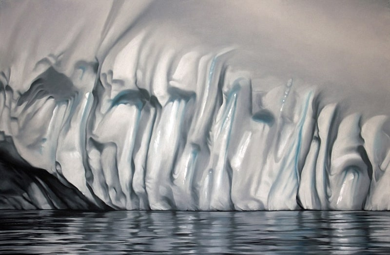 Incredible Finger-Painting Artwork by Zaria Forman (1)