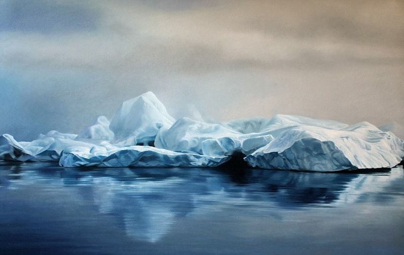 Incredible Finger-Painting Artwork by Zaria Forman (15)