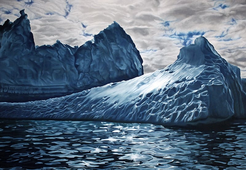 Incredible Finger-Painting Artwork by Zaria Forman (8)
