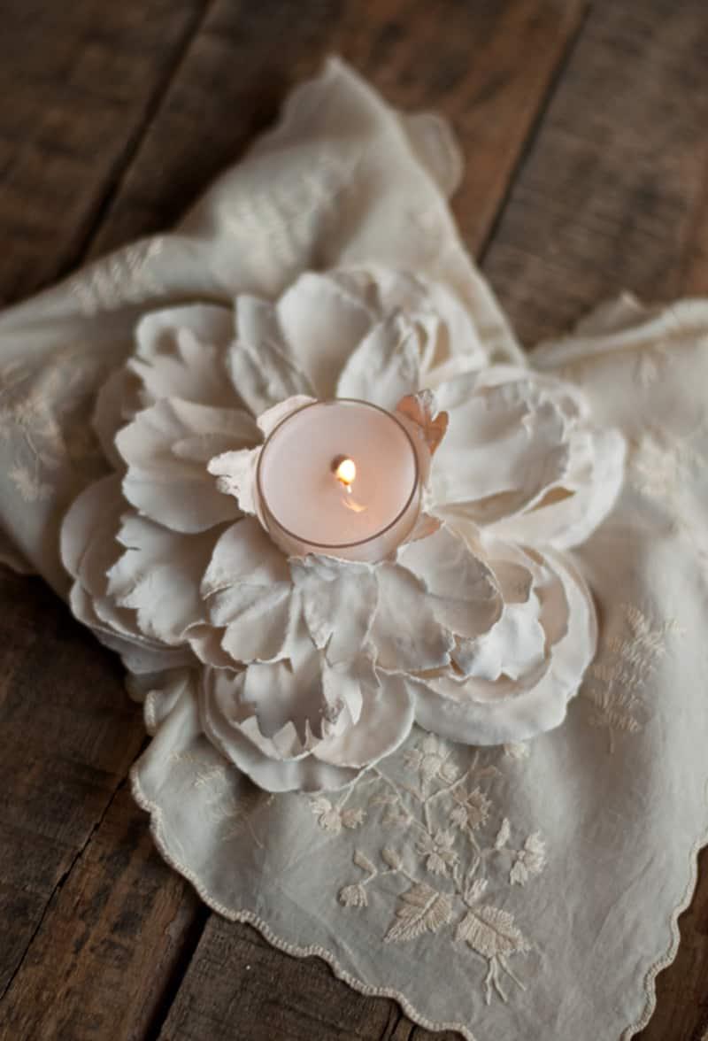 Plaster of Paris Flowers designrulz (1)