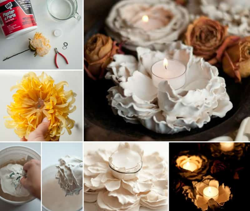 Plaster of Paris Flowers designrulz (18)