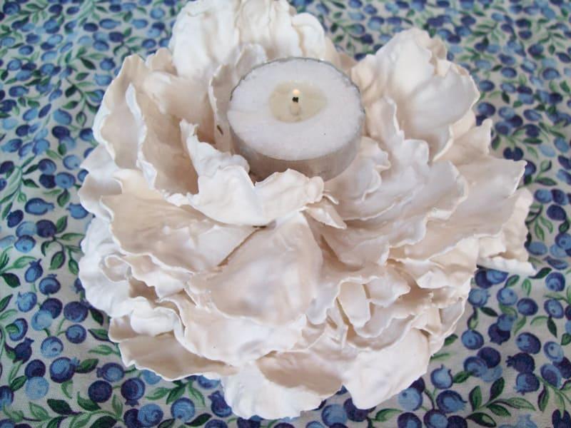 Plaster of Paris Flowers designrulz (7)