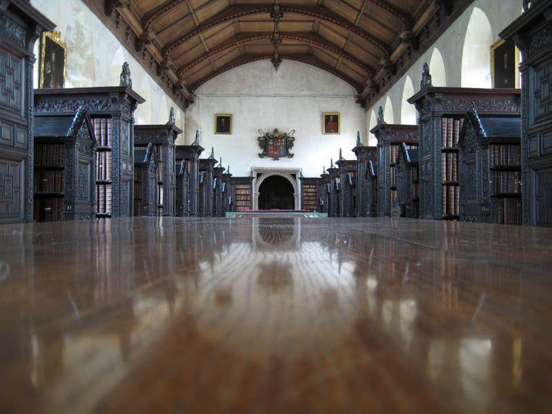 St John's College Library, Cambridge, Uk 2