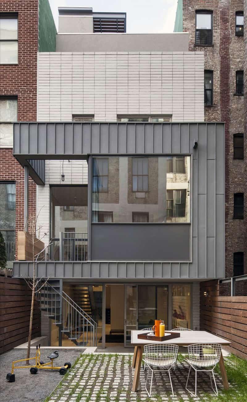 Modern Townhouse In New York City By Ben Hansen Architect