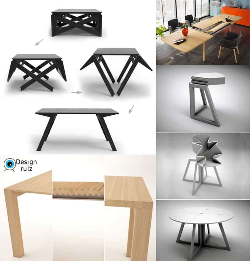30 Amazing Extending And Folding Tables! (video)