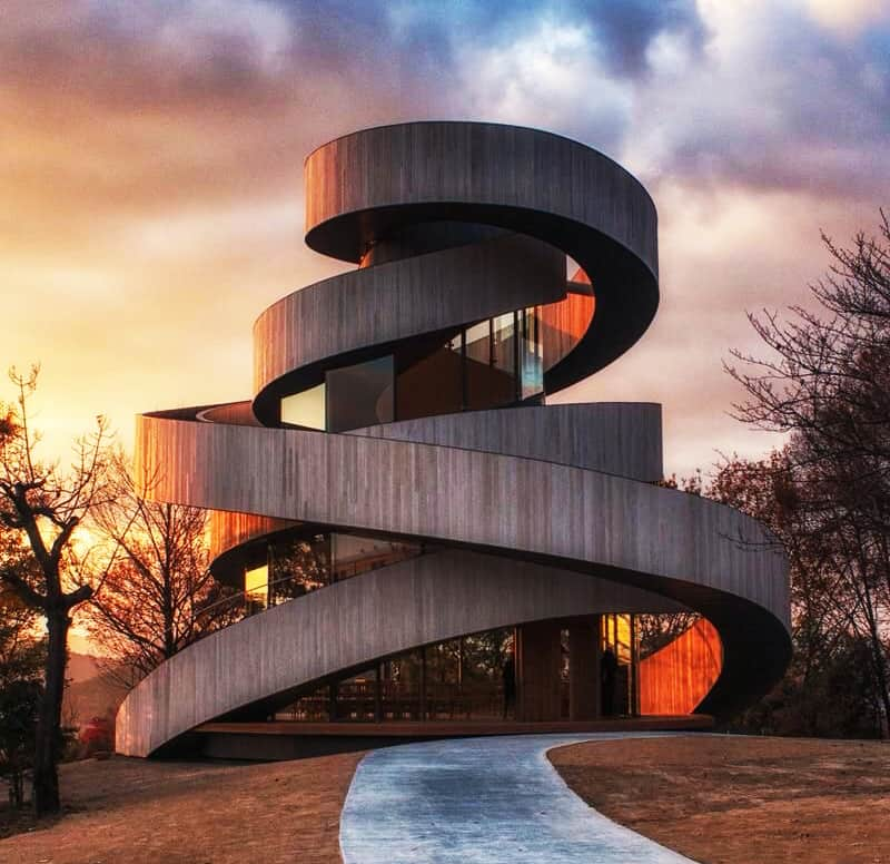 996 Best Archi Architecture Images On Pinterest: Especially For Weddings: The Ribbon Chapel By Hiroshi