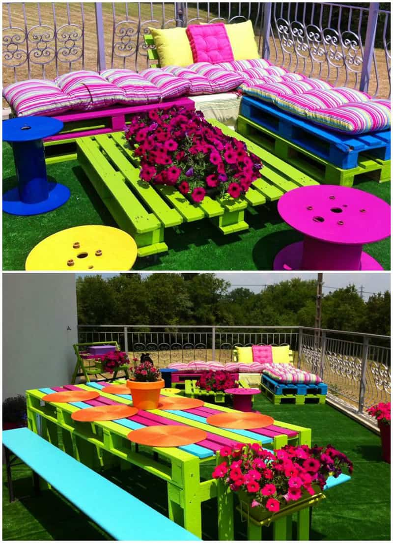Creative decorations with recycled items to turn your for Garden design game