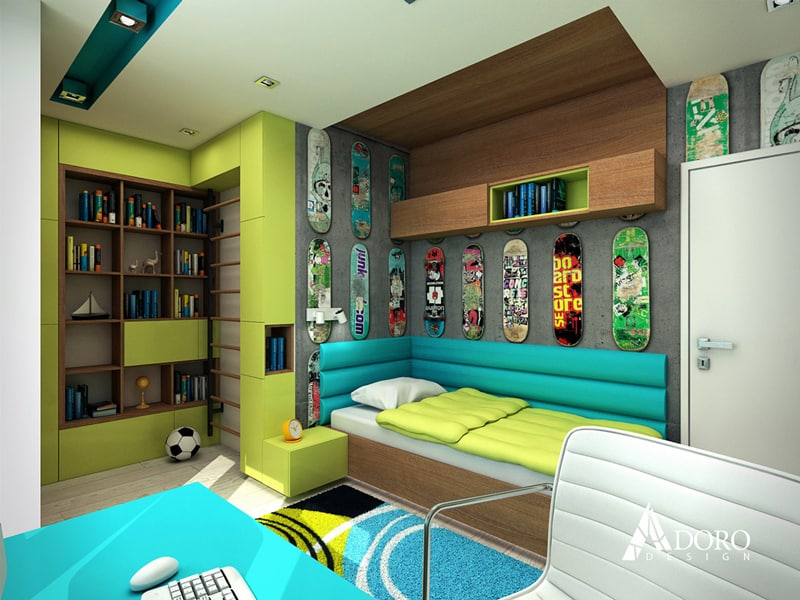 modern bedrooms for teenagers modern bedroom by adoro design 16324