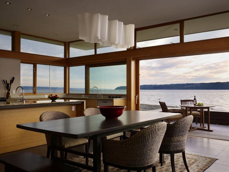 kitchen with large windows designrulz (11)