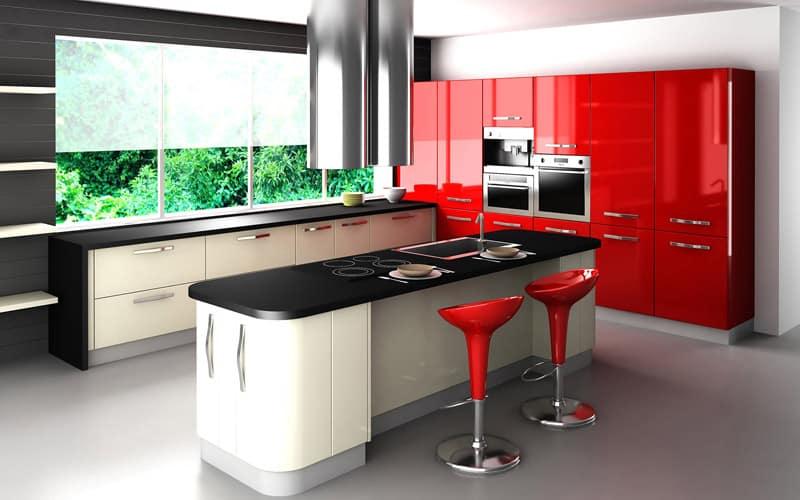 kitchen with large windows designrulz (18)