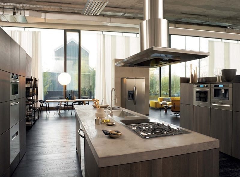 kitchen designs with large windows 40 kitchens with large or floor to ceiling windows 406