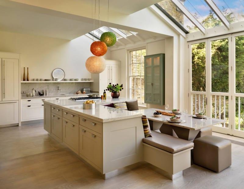 kitchen with large windows designrulz (23)