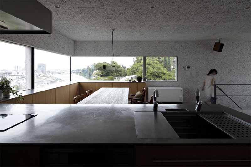 kitchen with large windows designrulz (3)