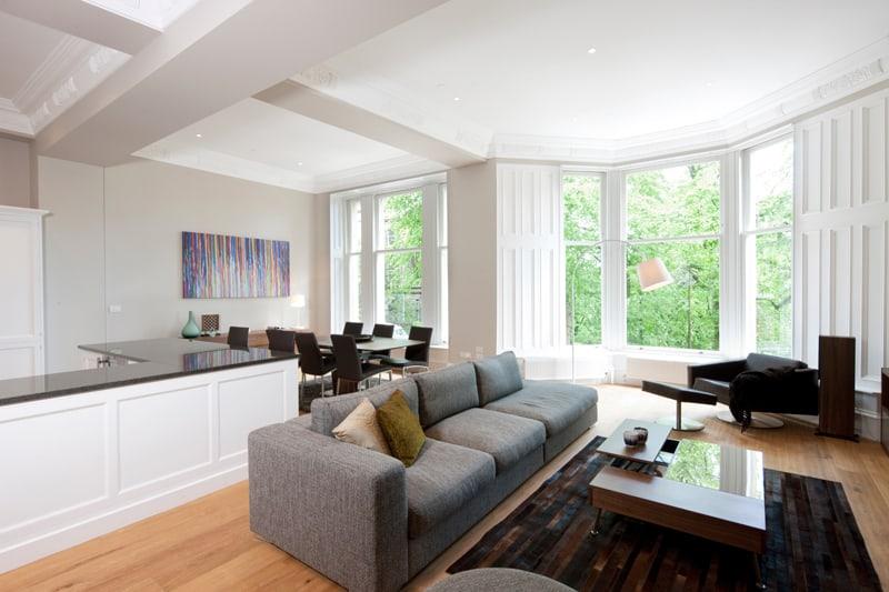 kitchen with large windows designrulz (31)