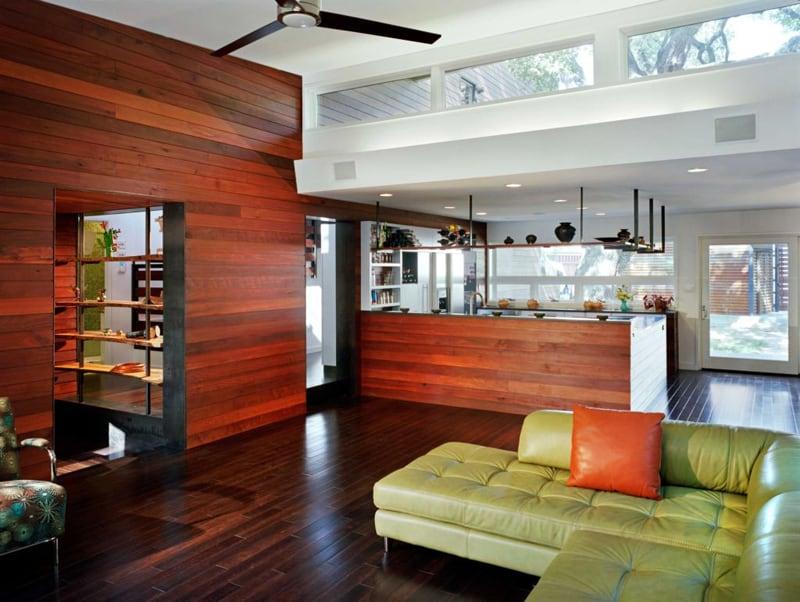 kitchen with large windows designrulz (34)