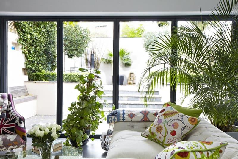 kitchen with large windows designrulz (36)